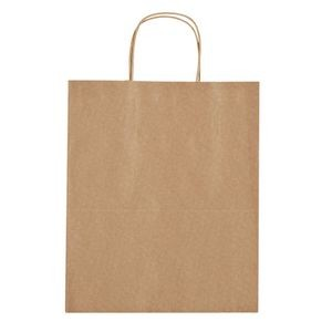 Kraft Paper Brown Shopping Bag - 13